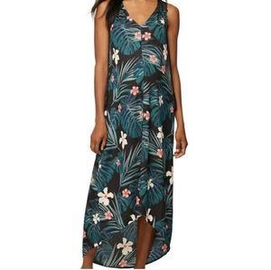 Rachel Zoe Palm Floral Maternity Maxi Dress